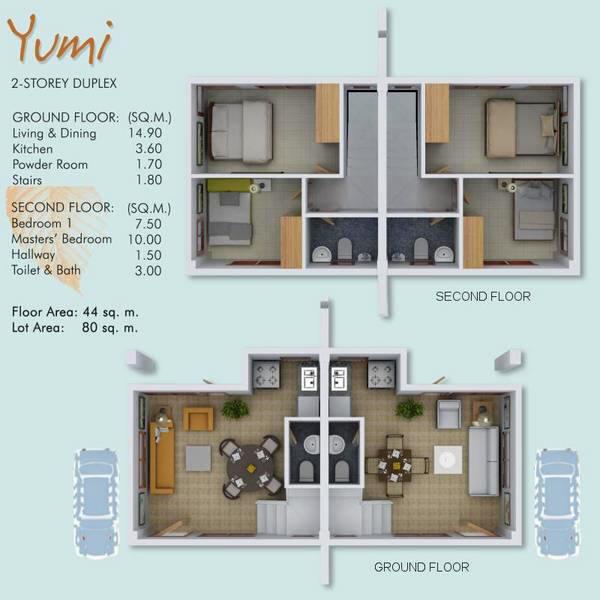 Ajoya Cebu House And Condominiums - House design 80 sqm